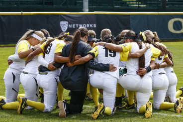 The Oregon Ducks softball team is a real contender for an NCAA championship.