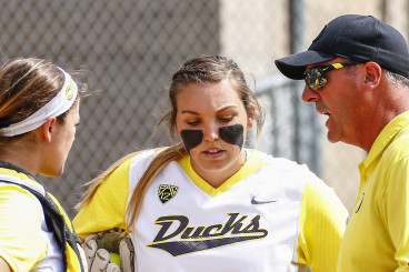 Oregon head coach Mike White has his offense and star pitcher firing on all cylinders.