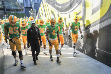 #20 Tony Brooks-James may be ready to step to the front for the Ducks