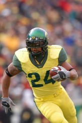 Former Oregon running back Terrance Whitehead
