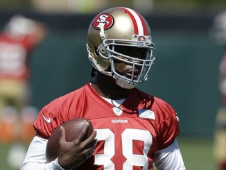 Marcus Lattimore never got  the chance to don a game day uniform for the 49ers