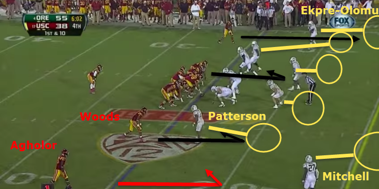 Quick hitch against off coverage should be automatic.