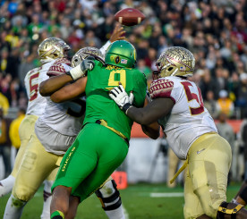 Armstead made #1 draft pick Jameis Winstons life a living hell in the Rose Bowl.