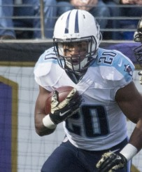 Young speedster Bishop Sankey could really benefit from Marcus Mariota being a Titan.
