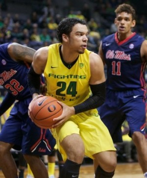 Dillon Brooks of Mississauga, Ontario, is a future star for the Ducks.