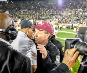 Jimbo Fisher's failure to establish discipline within his team bit him hard at the Rose Bowl.