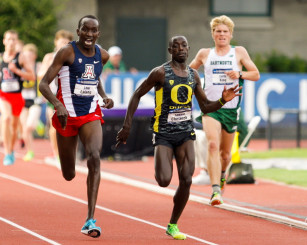 The only man to beat Cheserek in an honest race, Lawi Lalang.