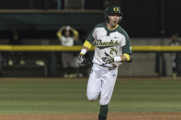 Mark Karaviotis gave the Ducks the lead with his first career homer.