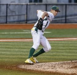 Cole Irvin will take the mound Friday night against UCLA.
