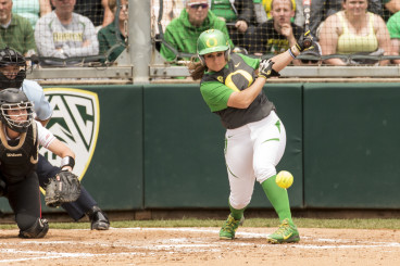 Oregon's bats came alive in the fourth inning for the second consecutive game.