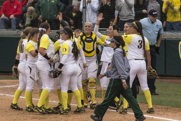 The Ducks are a victory away from a Super regional appearance.