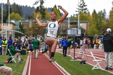 Jasmine Todd in the Long Jump