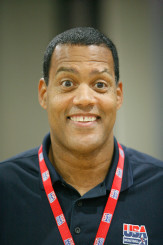Stu working for USA Basketball