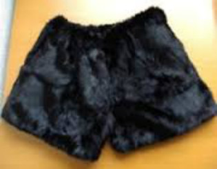...and I am currently wearing underwear made from the fur.