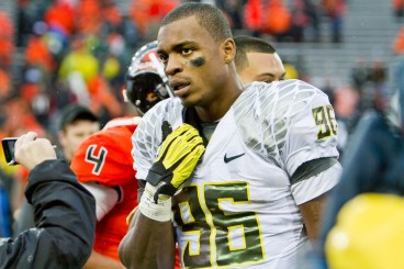 Dion Jordan starred at Oregon but has struggled with injuries, suspensions and to produce when on the field