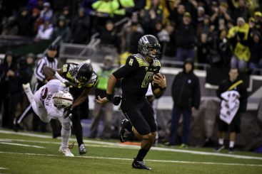 Marcus Mariota will be remembered as the best player that the program has ever seen.