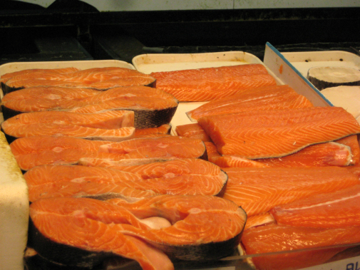 Since we have some free time after Catalina Island I will be at your house for a salmon barbecue very soon.