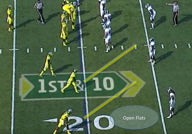 The Stick Concept in a Trips Formation