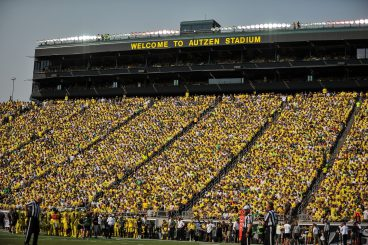 Winning football culture reigns supreme at Autzen.