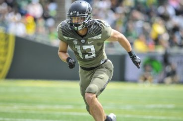 Devon Allen suffered an ACL tear last season but hopes to be back soon for the Ducks.