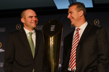 Mark Helfrich and Urban Meyer will likely face off again when this series kicks off in 2020-21.