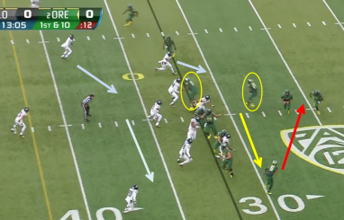 Oregon vs Colorado Zone Read Reverse 2
