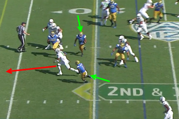 Oregon vs UCLA Read Option Screen 4