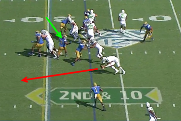 Oregon vs. UCLA Read Option Screen 3