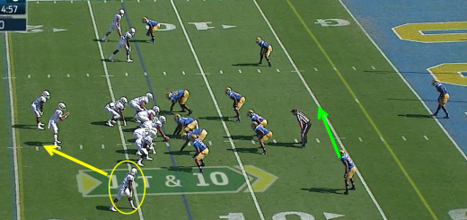 Oregon vs. UCLA Shift to Two Back Triple Option 1