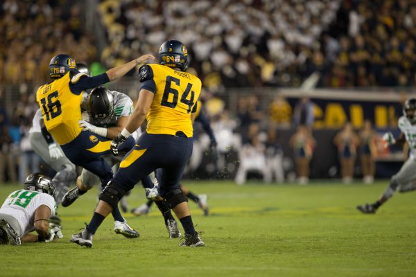 The Ducks defense is waiting to get its hands on Jared Goff yet again.
