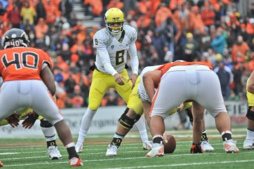 While he isnt the most fiery player, Mariota is still a superb leader.