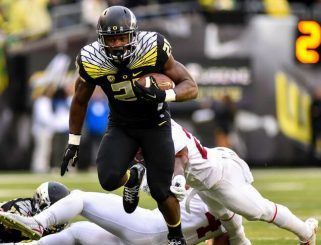 As a true power back, Freeman will take a lot of pressure off of whoever Oregons QB is.