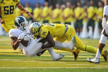 Oregon with a standout defensive performance