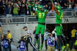 Pac-12: Oregon. Again. Undefeated. No issues. Positive thoughts.