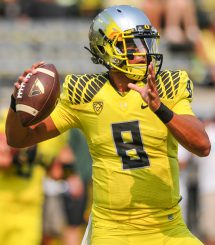Marcus Mariota is the perfect example of what it means to be a man of Oregon.