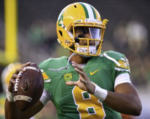 Mariota showed flashes of his potential in his NFL debut