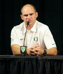 Mark Helfrich should have no trouble motivating his team. The Pac-12 Media may have done his job for him.