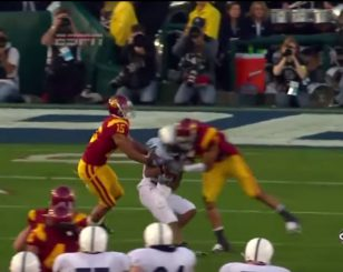 Targeting makes the highlight reel at USC.