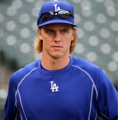 Zach Greinke, of course.