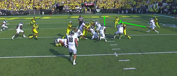 As you can see, the hole opens wide for Langford.