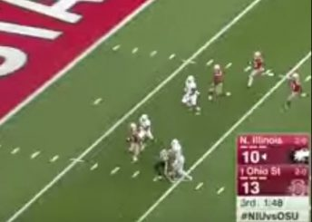 Ohio State picked up a nice block by an official and retained its top ranking on this pick six.