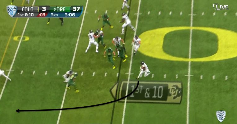 Receivers need to be able to block for this play to work. That could mean getting away with a hold or block in the back.