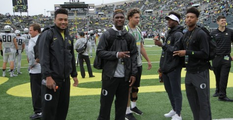 Committed high school prep stars for Oregon