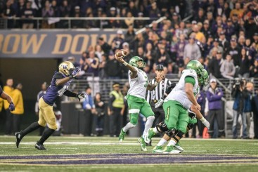 With Vernon Adams leaving after one year a quarterback is needed