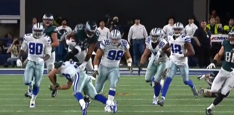 DeMarco Murray gains 20 yards in OT