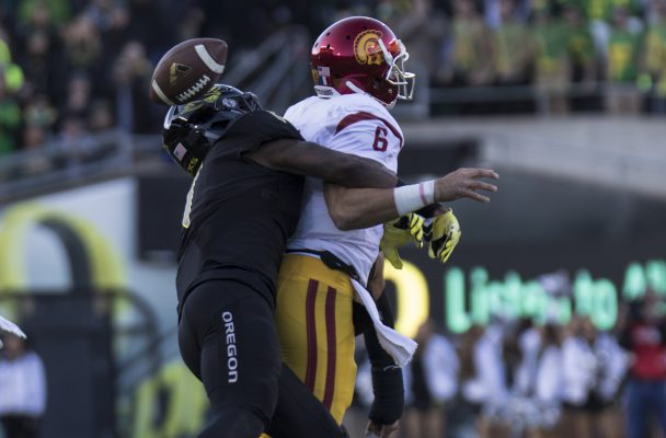 Cody Kessler's strip sack ended the Trojan's chances