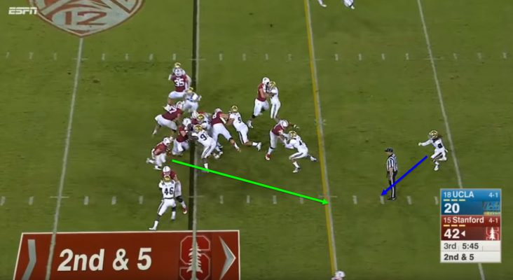 McCaffrey's speed is something the Stanford offense hasn't had at running back in a long time.