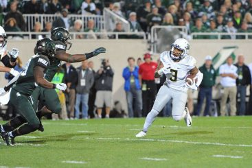 MSU was a broken finger away from picking up an early loss.