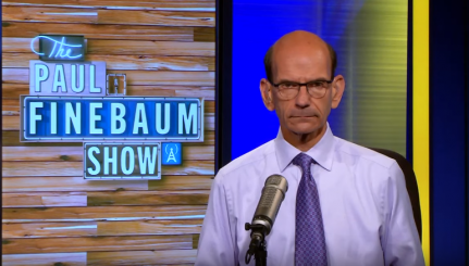 Mr. Finebaum is not amused.
