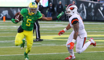 Like Taj Griffin Oregon will create some distance between it and its opponents for 2016